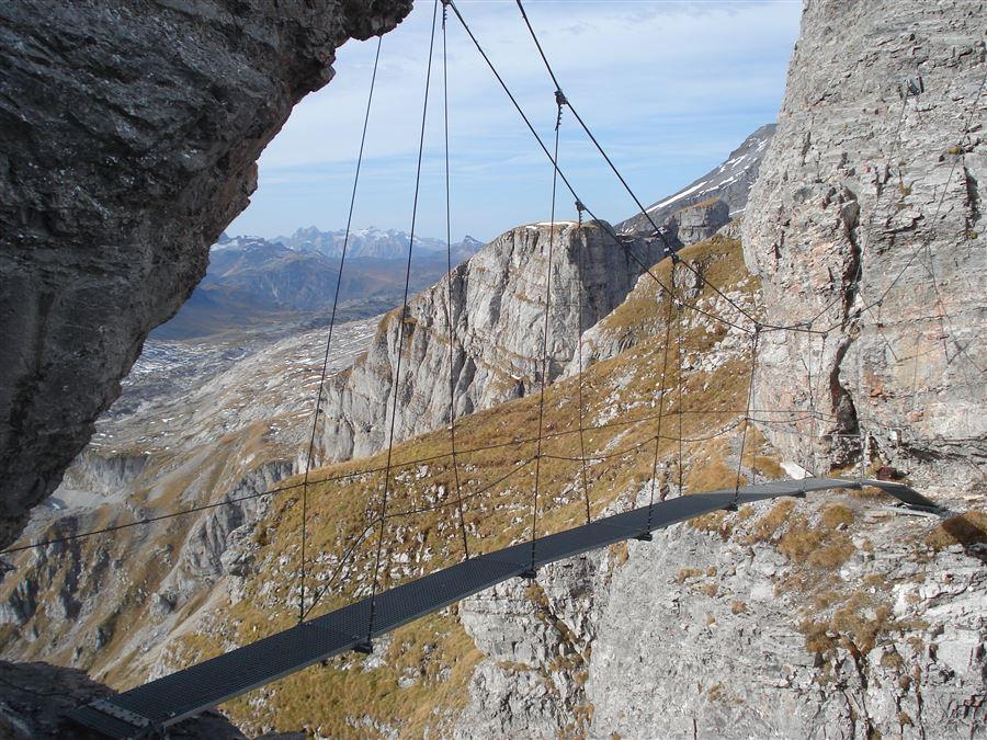 Klettersteig La Resgia : Klettersteig la resigna fipo